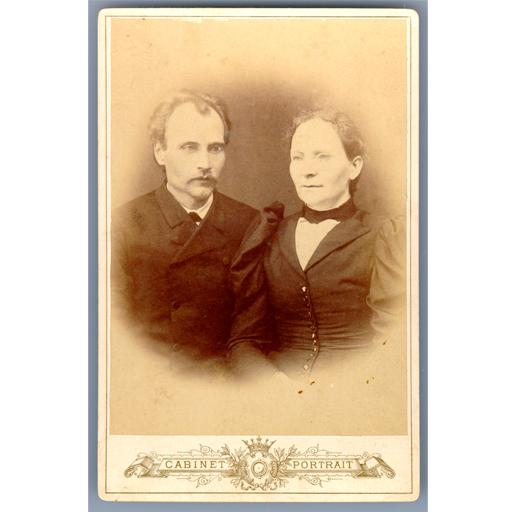 Первый усть-сысольский фотограф Кулаков Платон Филитерович с женой Еленой Афанасьевной